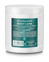 Массажный крем целлюлит-контроль  (Bruno Vassari | Body Care | Crema Masaje Anticelulitico), 1000 мл