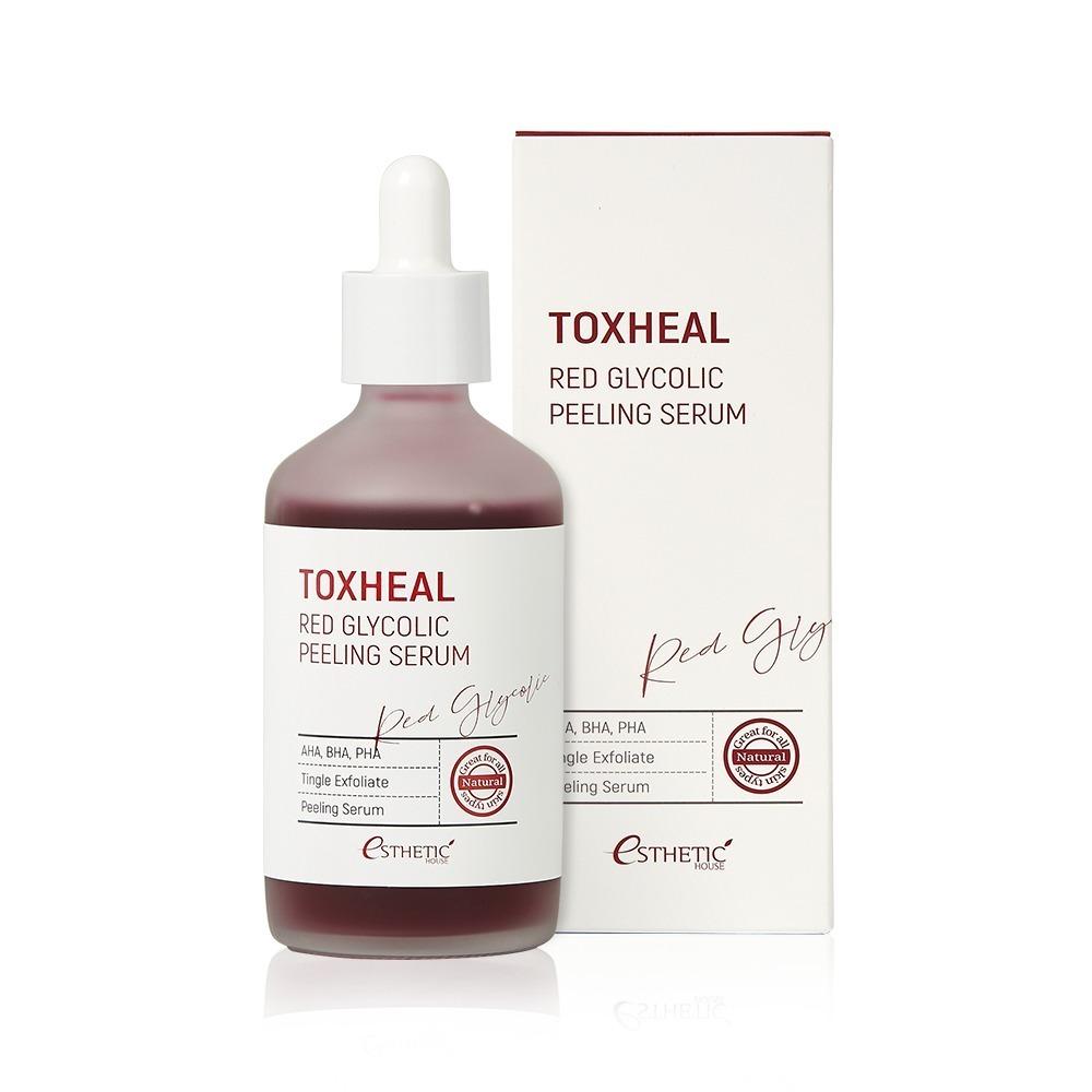 Пилинг-сыворотка гликолевая ESTHETIC HOUSE Toxheal Red Glyucolic Peeling Serum 100 мл
