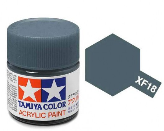 Tamiya Акрил XF-18 Краска Tamiya, Синий Средний Матовый (Medium Blue), акрил 10мл import_files_b9_b9307f055a8411e4bc9550465d8a474f_e3fbec405b5511e4b26b002643f9dbb0.jpg