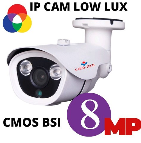 Уличная IP видеокамера наблюдения 8.0 МП CAICO TECH QH 8606