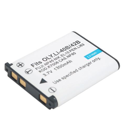 Аккумулятор Fujimi Li-40B/42B для Olympus FE5500 TG310 TG320 VR310 VR325 M7040