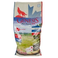 Genesis Pure Canada Grand Prairie Adult для взрослых собак всех пород с чувствительным пищеварением с курицей, буйволом и перепелками 11.79 кг