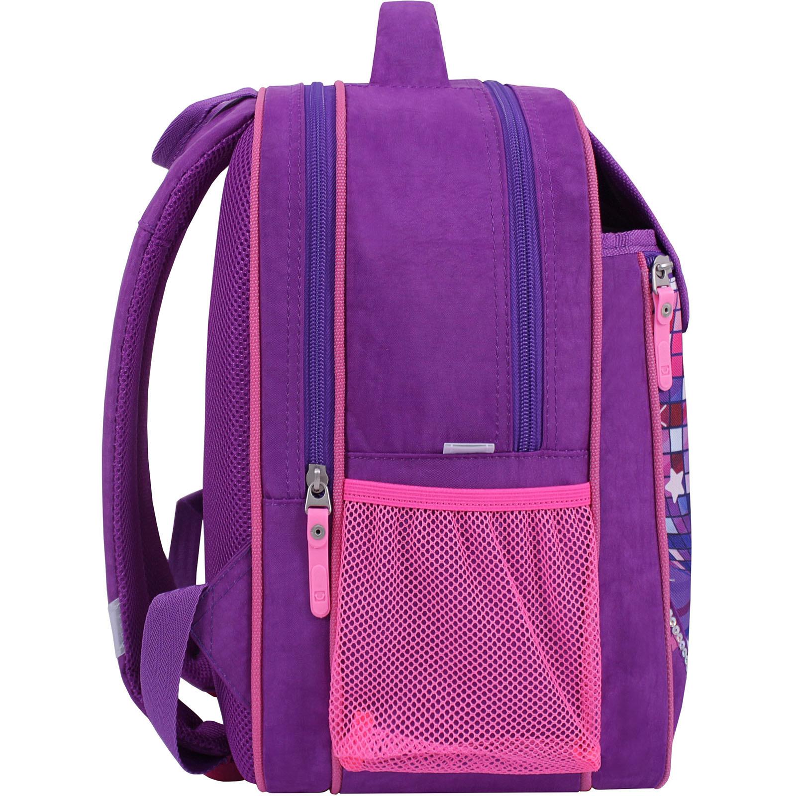 Рюкзак школьный Bagland Отличник 20 л. 339 фиолетовый 503 (0058070) фото 2