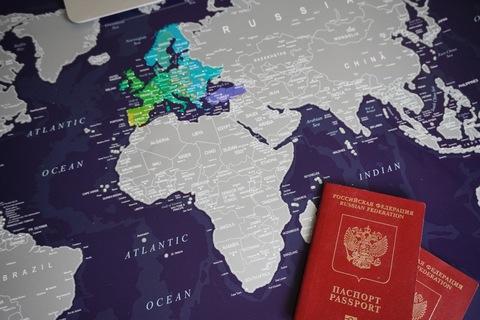 Скретч карта мира AFI Design