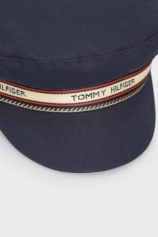 Женское темно-синее кепи TH LOGO Tommy Hilfiger