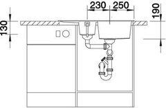 Мойка кухонная Blanco Metra 6S Compact - вид спереди