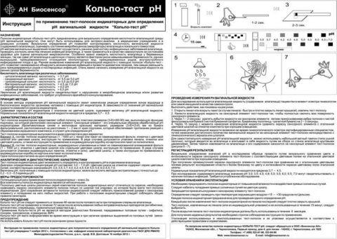 Кольпо-тест рН