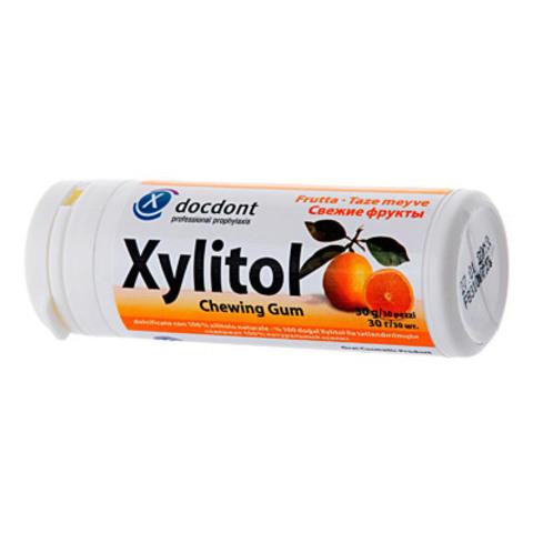 Жев. резинка с ксилитом XYLITOL в контейнере 160 гр