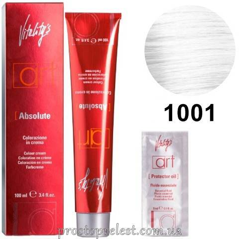 Vitality's Art Absolute Colour Cream 100 ml - Стойкая крем-краска ультра блонд с масляным коктейлем 100 мл