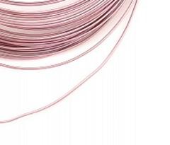 Проволока для плетения алюминиевая, 1 мм, 10 м.