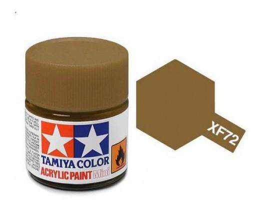 Tamiya Акрил XF-72 Краска Tamiya, Коричневый JGSDF Матовый (Brown JGSDF), акрил 10мл import_files_02_02759ce65aac11e4bc9550465d8a474f_95b3156a5b6211e4b26b002643f9dbb0.jpg