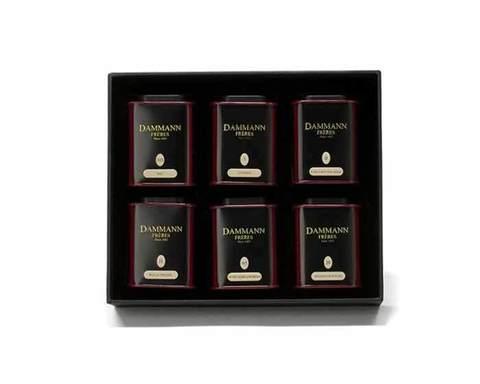 Набор чая Dammann Parfums, Ароматы