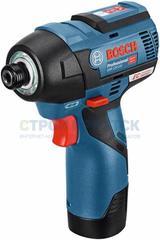 Аккумуляторный ударный гайковёрт Bosch GDR 12V-110  (06019E0005)