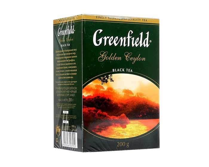 Чай черный листовой Greenfield Golden Ceylon, 200 г