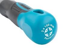 Отвертка PZ2 x 100 мм, S2, трехкомпонентная ручка Gross