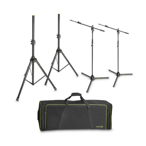 Gravity SSMS SET 1 комплект акустических и микрофонных стоек в кейсе