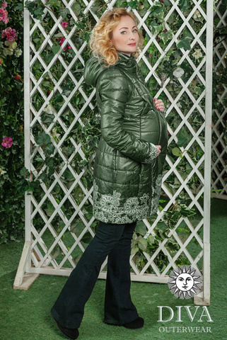 Куртка 4в1 демис. Diva Outerwear Pino для беременных и слингоношения