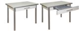 Обеденный стол с ящиком с поворотной откидной столешницей М142.83