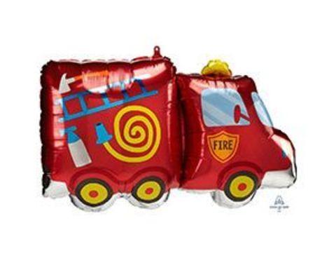 Фольгированный шар Машина пожарная