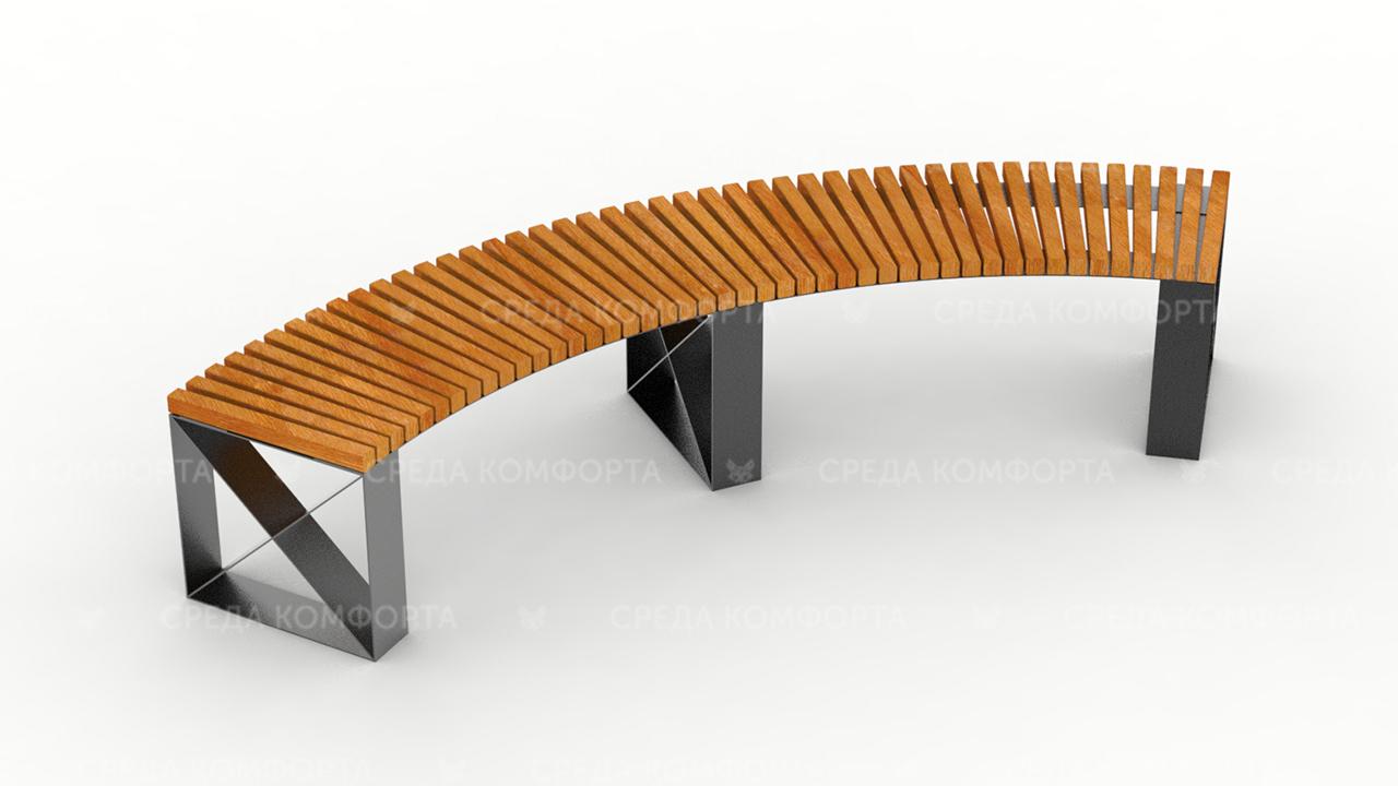 Полукруглая скамейка SCAM0048