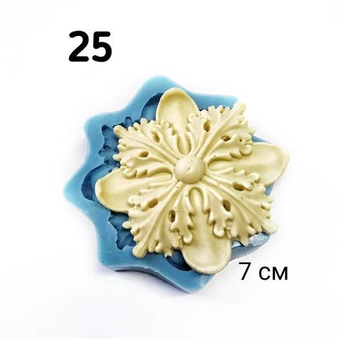0025 Молд Мебельный декор. Розетка