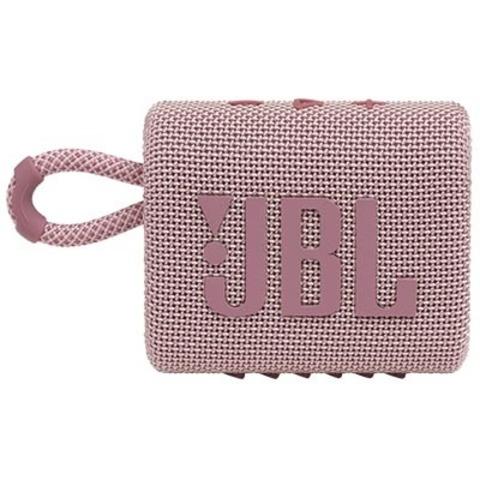 JBL GO 3, Розовый