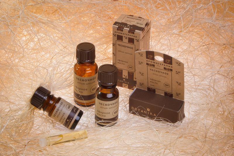 ЧЕСНОЧНОЕ 10мл 100% эфирное масло