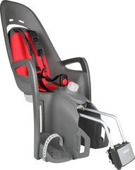 Детское велокресло Hamax Zenith Relax серый-красный