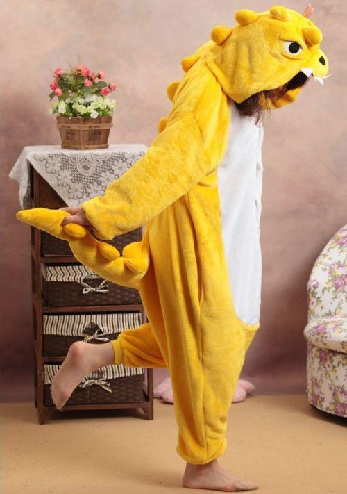 Пижамы кигуруми Динозавр Жёлтый Clipboard02.jpg