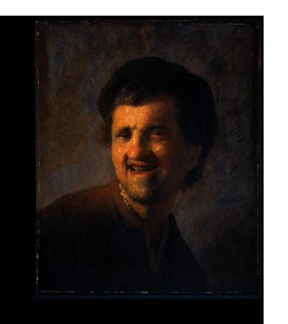 """Рембрандт Репродукция """" Рембрандт - Бюст смеющегося молодого мужчины"""" Х152.png"""