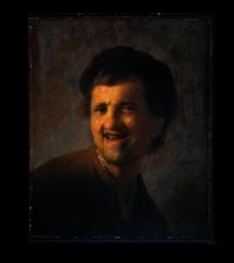 """Репродукция """" Рембрандт - Бюст смеющегося молодого мужчины"""""""