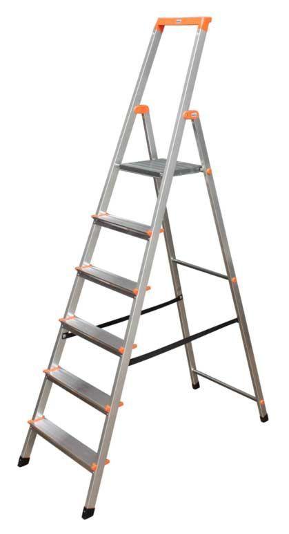 SOLIDY Свободностоящая стремянка ,6 ступеней ,раб.высота 3.27м(126245)