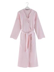 Махровый женский халат MELIS розовый