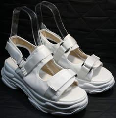 Спортивные женские сандалии Small Swan PM23-3 White.