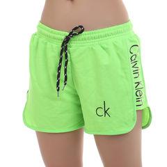 Женские шорты зеленые Calvin Klein Women