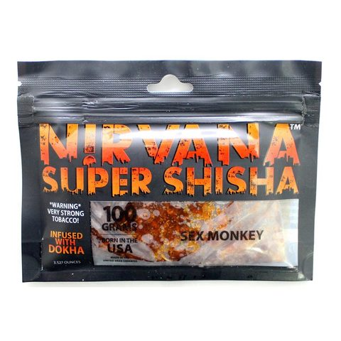 Табак для кальяна Nirvana - Sex Monkey 100 гр.