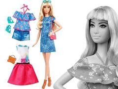 Барби оригинал, Блондинка, Модный гардероб в Магии кукол