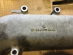 Патрубок интеркулера D2066 51094113442 MAN TGA