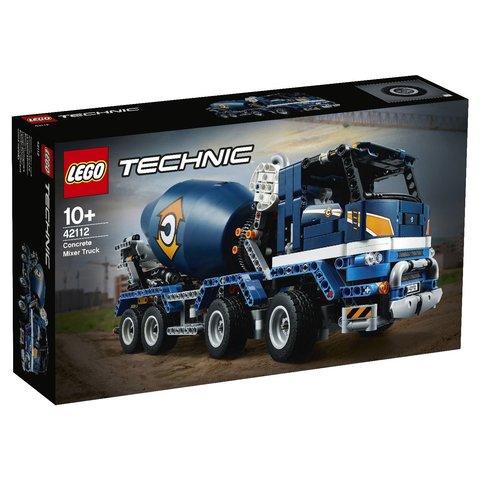 LEGO Technic: Бетономешалка 42112 — Concrete Mixer Truck — Лего Техник