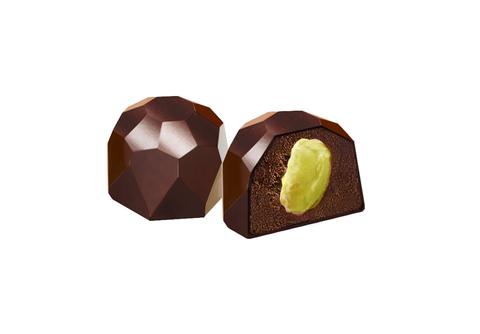 Конфеты шоколадные из кэроба с Фисташками, без сахара 60 г