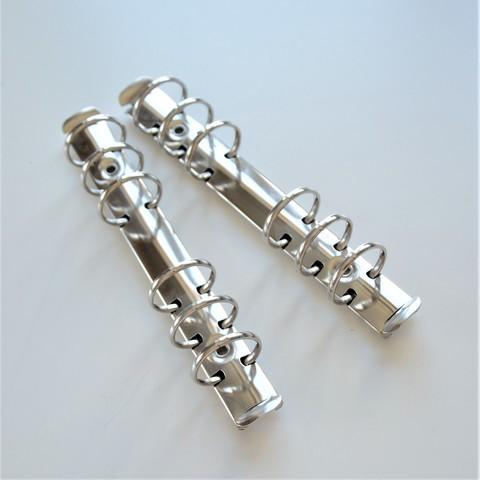 Кольцевой механизм А6, диаметр колец 2.5 см, Цвет: серебро