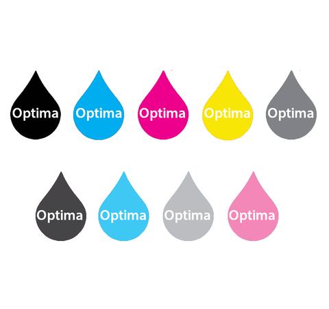 Комплект пигментных чернил Optima для Epson 9x250 мл
