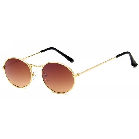Солнцезащитные очки 7046005s Коричневый - фото