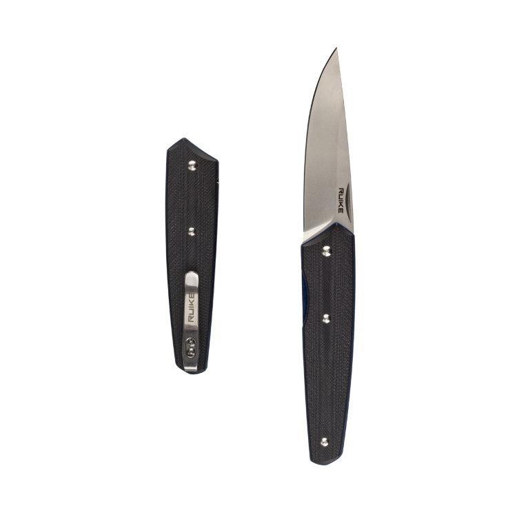 Нож Ruike Fang P848-B, черный