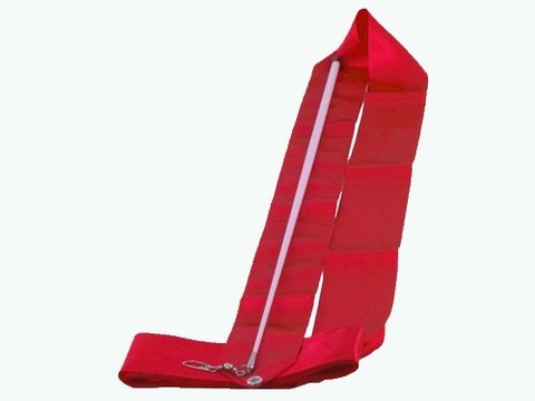 Лента гимнастическая. Цвет ленты: красный: АВ220-R
