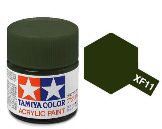 Tamiya Акрил XF-11 Краска Tamiya, Японский Морской Зеленый Матовый (J. N. Green), акрил 10мл import_files_b9_b9307efe5a8411e4bc9550465d8a474f_e3fbec395b5511e4b26b002643f9dbb0.jpg