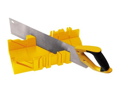 Набор профессиональное стусло и ножовка 350 мм