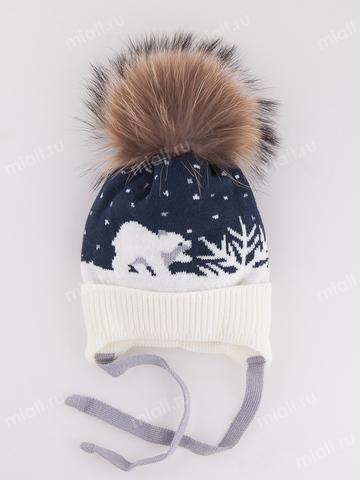 Зимняя шапка для мальчика Mialt Шаня