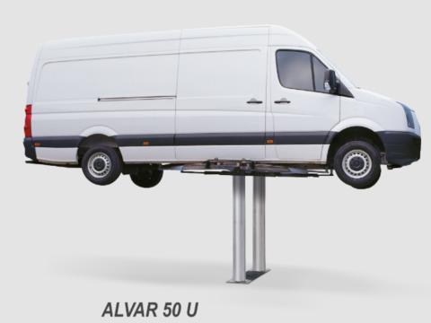 Подъёмник плунжерный для автосервиса BUTLER  ALVAR 50U. Грузоподъёмность 5 т.