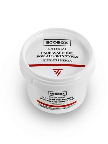 Натуральный гель для умывания для всех типов кожи Череда ECOBOX